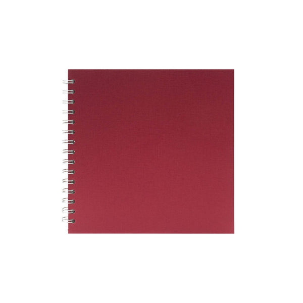 8x8 Square, Eco Red Display Book by Pink Pig International