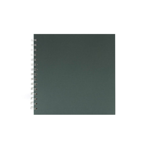8x8 Square, Eco Green Watercolour Book by Pink Pig International