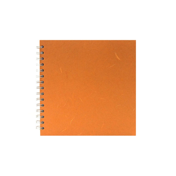 8x8 Square, Orange Watercolour Book by Pink Pig International