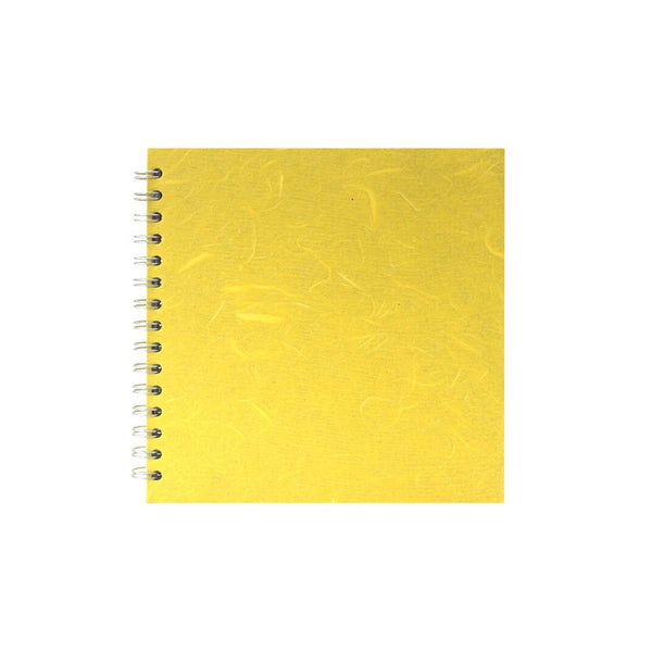 8x8 Square, Yellow Sketchbook by Pink Pig International