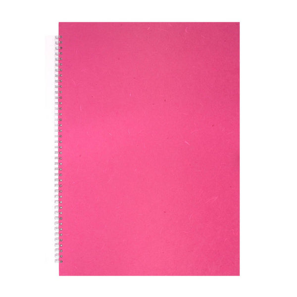 A2 Portrait, Bright Pink Display Book by Pink Pig International