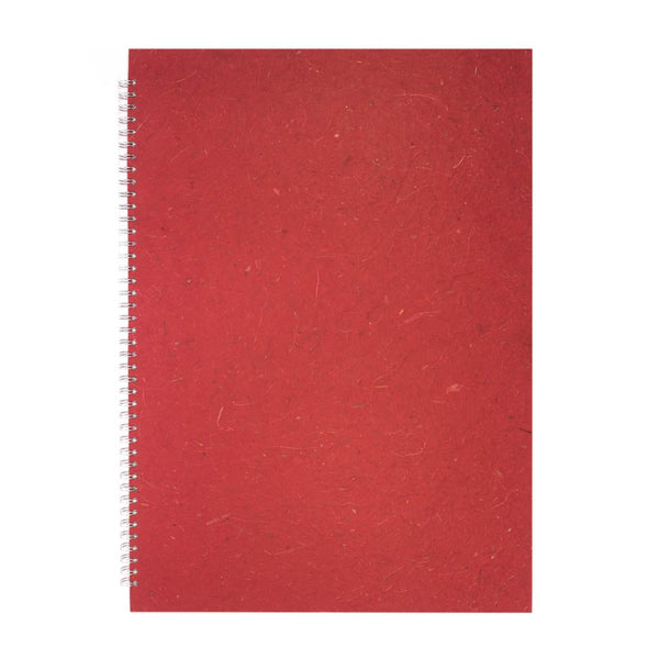 A2 Portrait, Burgundy Sketchbook by Pink Pig International