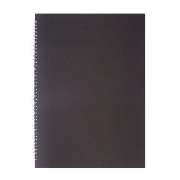 A2 Portrait, Eco Black Sketchbook by Pink Pig International