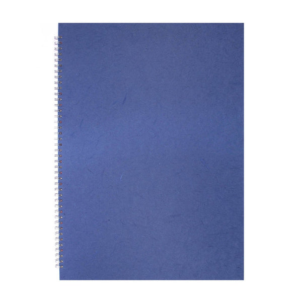 A2 Portrait, Mid Blue Display Book by Pink Pig International