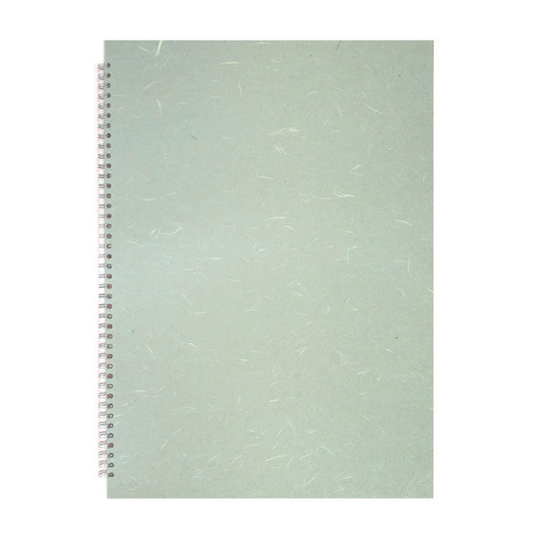 A2 Portrait, Pale Blue Sketchbook by Pink Pig International