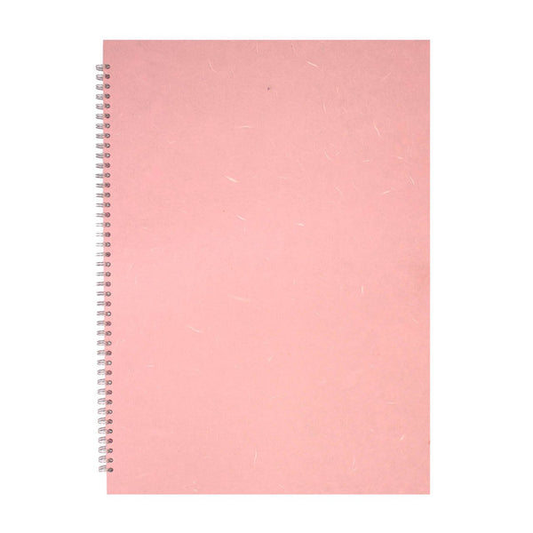 A2 Portrait, Pale Pink Display Book by Pink Pig International
