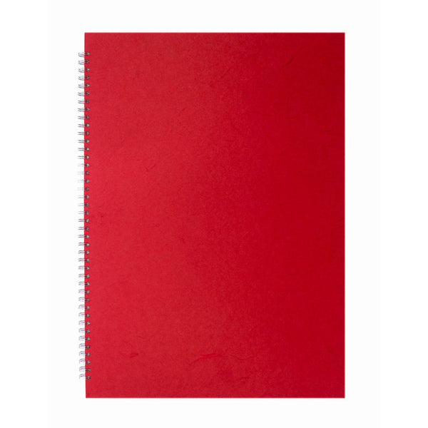 A2 Portrait, Red Display Book by Pink Pig International