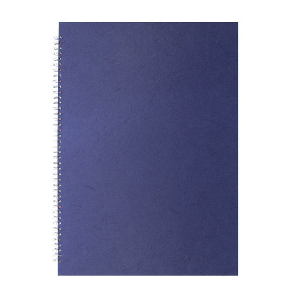 A2 Portrait, Royal Blue Display Book by Pink Pig International