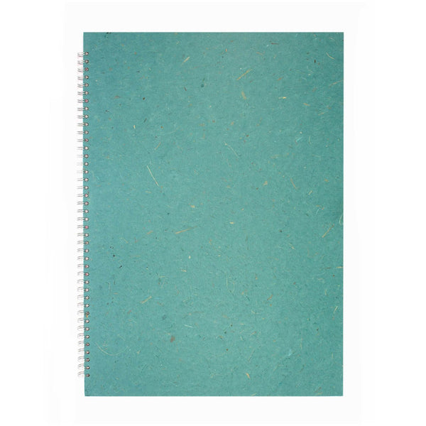 A2 Portrait, Turquoise Sketchbook by Pink Pig International