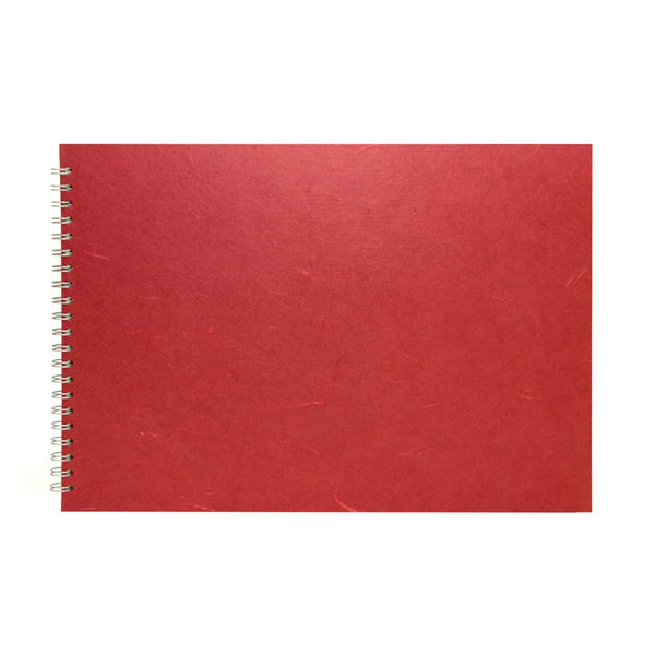 A3 Landscape, Claret Sketchbook by Pink Pig International