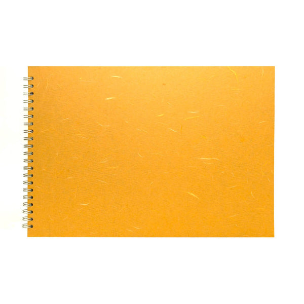A3 Landscape, Mustard Sketchbook by Pink Pig International