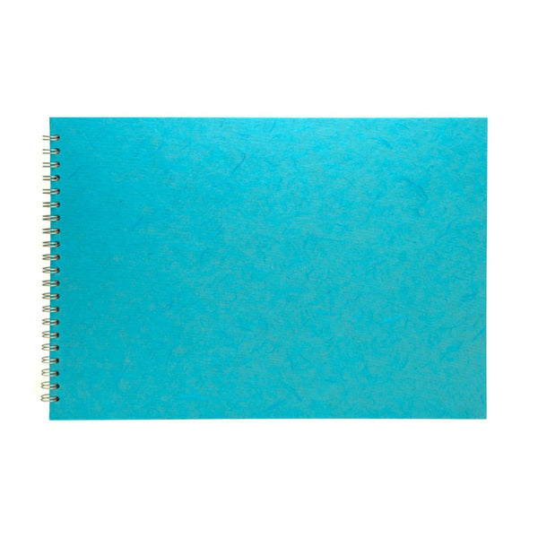 A3 Landscape, Aqua Sketchbook by Pink Pig International