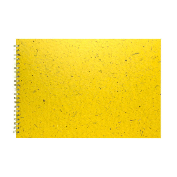 A3 Landscape, Wild Yellow Sketchbook by Pink Pig International