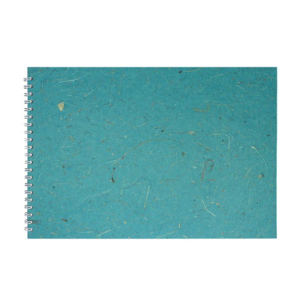 A3 Landscape, Turquoise Display Book by Pink Pig International