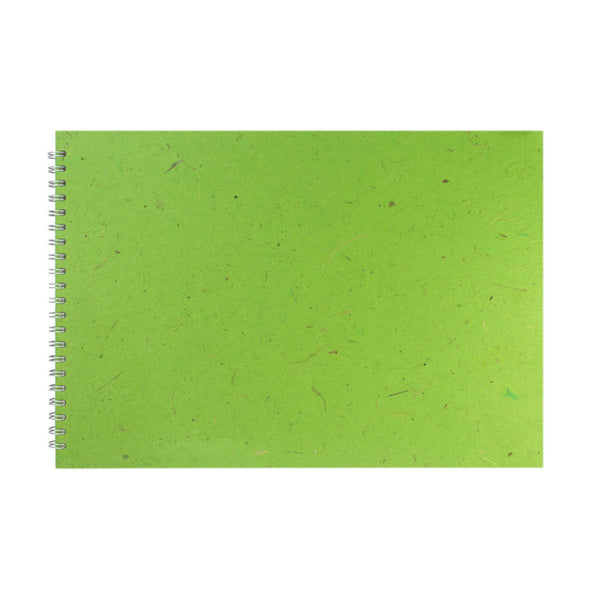 A3 Landscape, Emerald Sketchbook by Pink Pig International