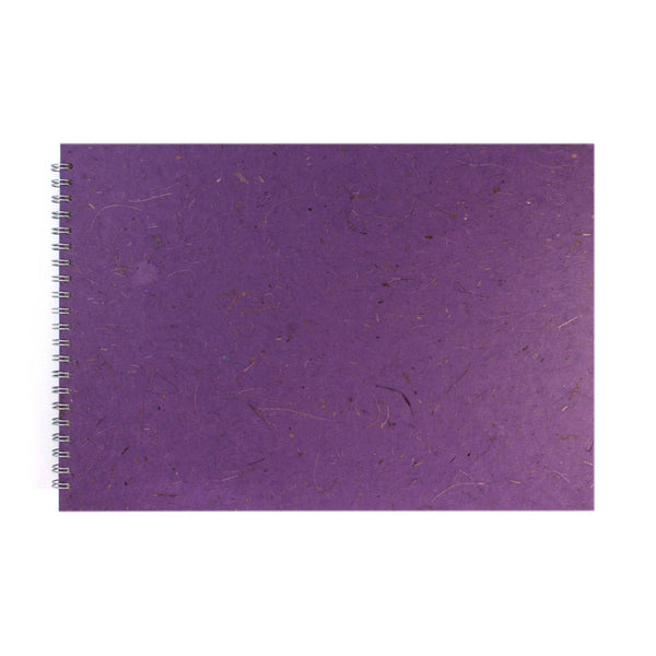 A3 Landscape, Amethyst Watercolour Book by Pink Pig International