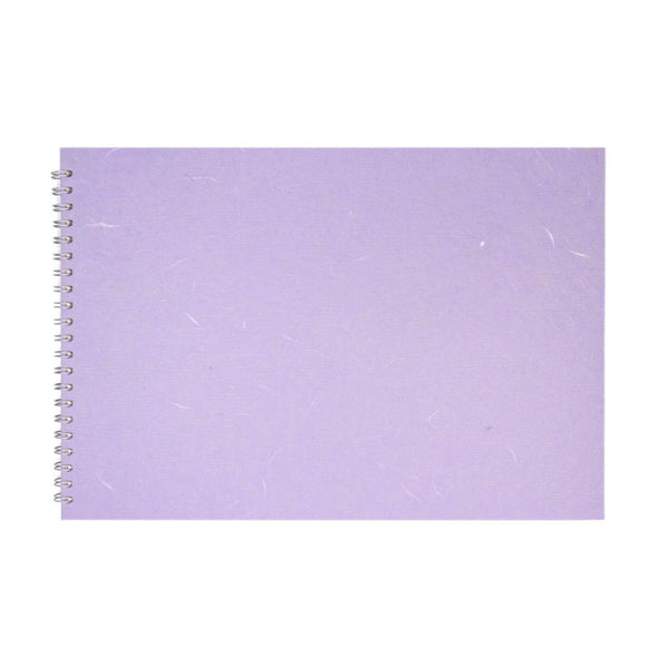 A3 Landscape, Lilac Sketchbook by Pink Pig International