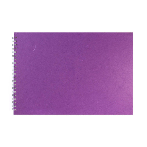 A3 Landscape, Purple Display Book by Pink Pig International