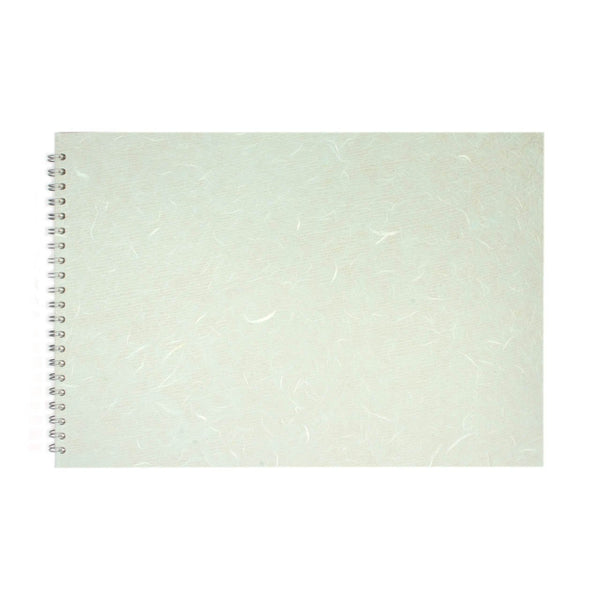 A3 Landscape, Pale Blue Sketchbook by Pink Pig International