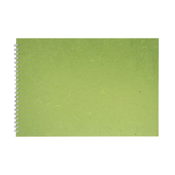A3 Landscape, Moss Sketchbook by Pink Pig International