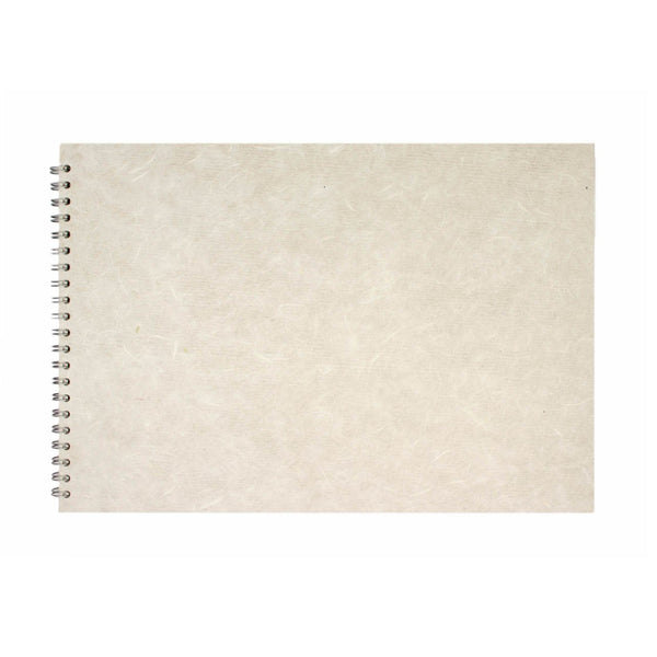 A3 Landscape, White Watercolour Book by Pink Pig International