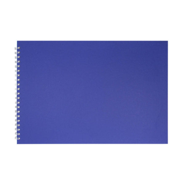 A3 Landscape, Eco Blue Watercolour Book by Pink Pig International