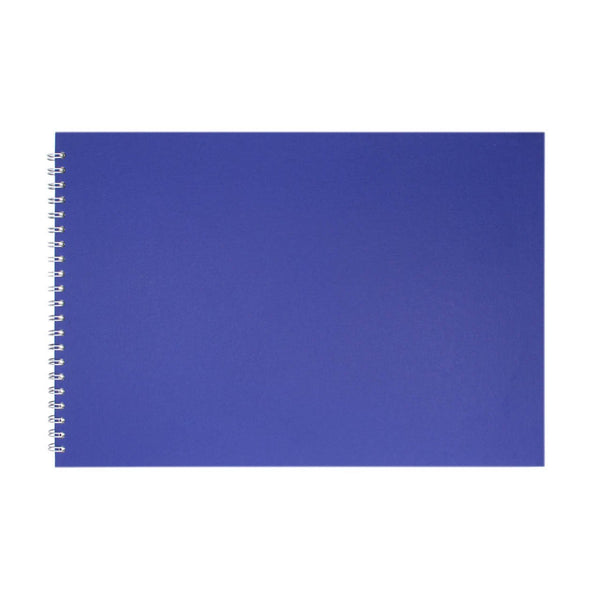A3 Landscape, Eco Blue Sketchbook by Pink Pig International