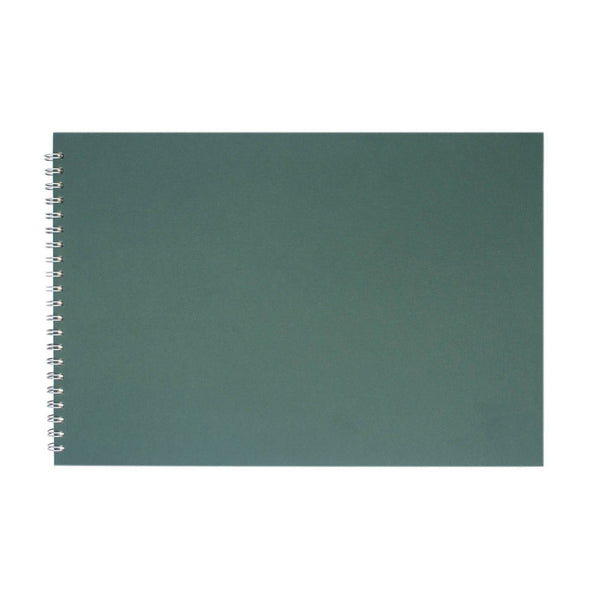 A3 Landscape, Eco Green Sketchbook by Pink Pig International