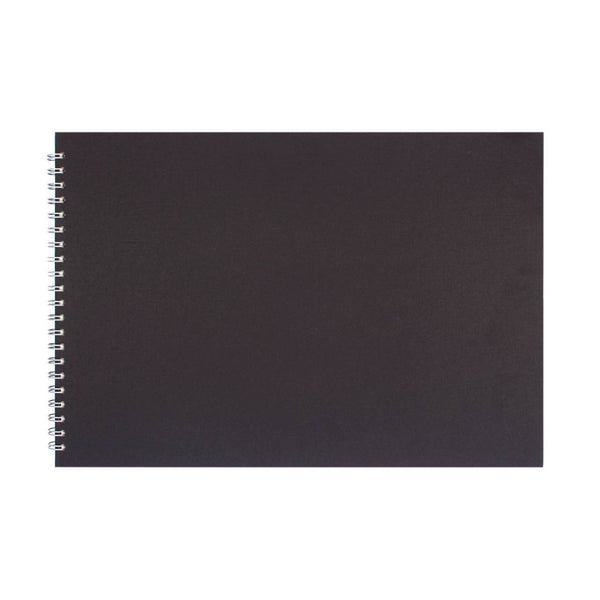 A3 Landscape, Eco Black Sketchbook by Pink Pig International