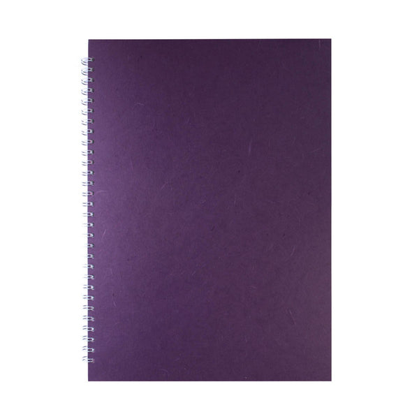 A3 Portrait, Aubergine Display Book by Pink Pig International
