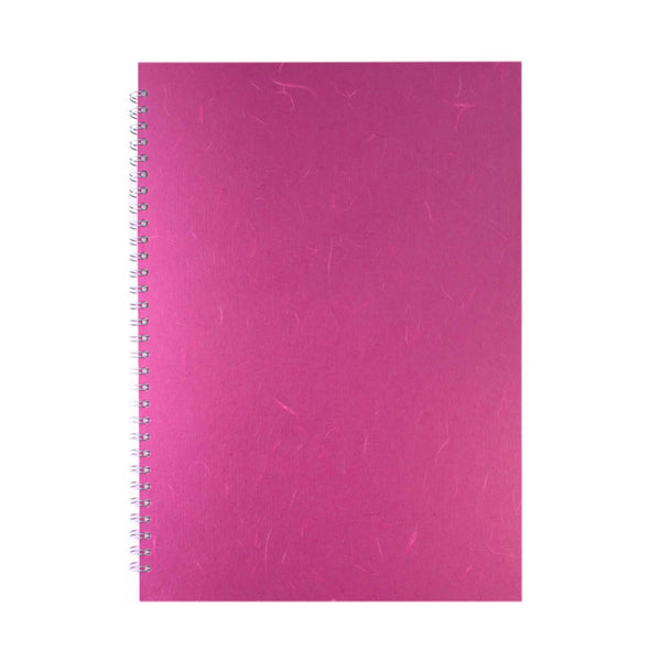 A3 Portrait, Bright Pink Display Book by Pink Pig International