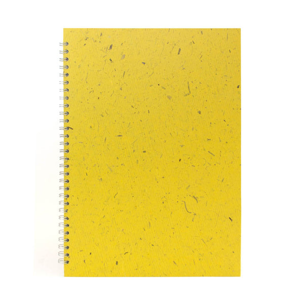 A3 Portrait, Wild Yellow Sketchbook by Pink Pig International