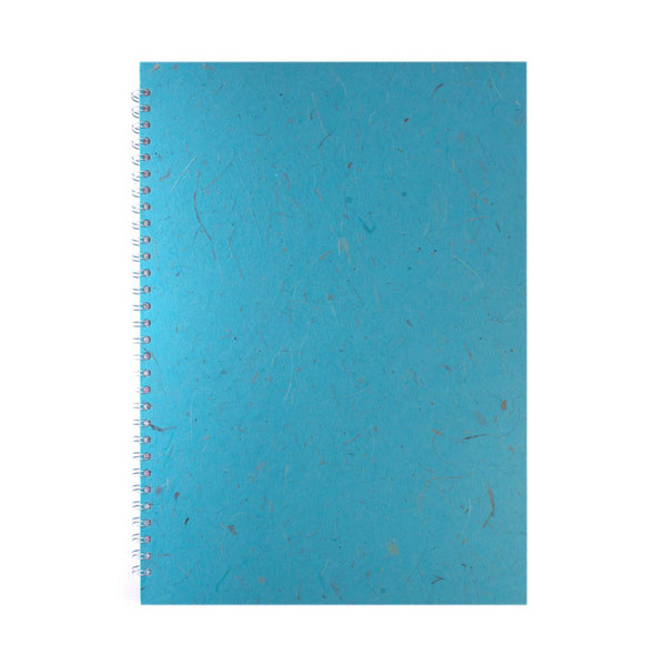 A3 Portrait, Sky Blue Sketchbook by Pink Pig International