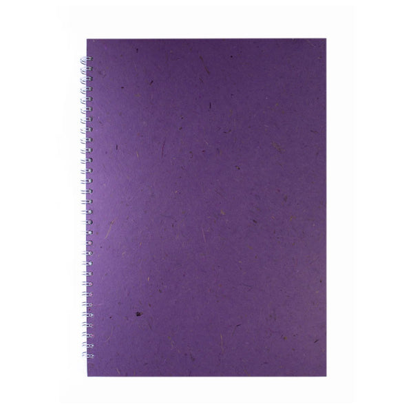 A3 Portrait, Amethyst Display Book by Pink Pig International