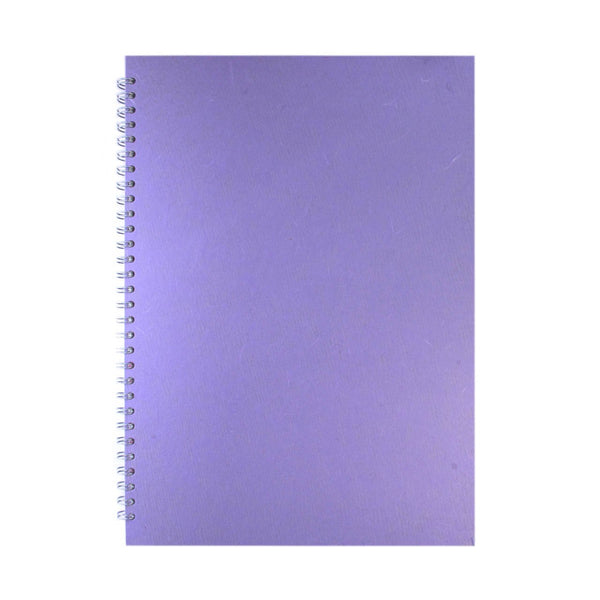 A3 Portrait, Lilac Watercolour Book by Pink Pig International