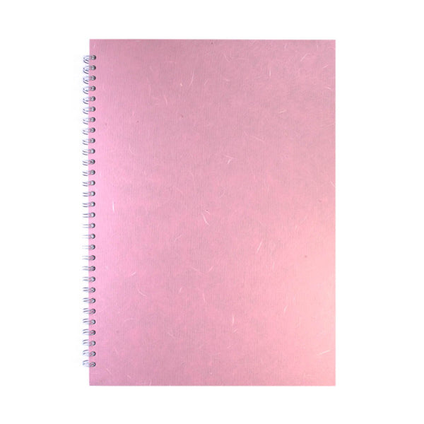A3 Portrait, Pale Pink Watercolour Book by Pink Pig International