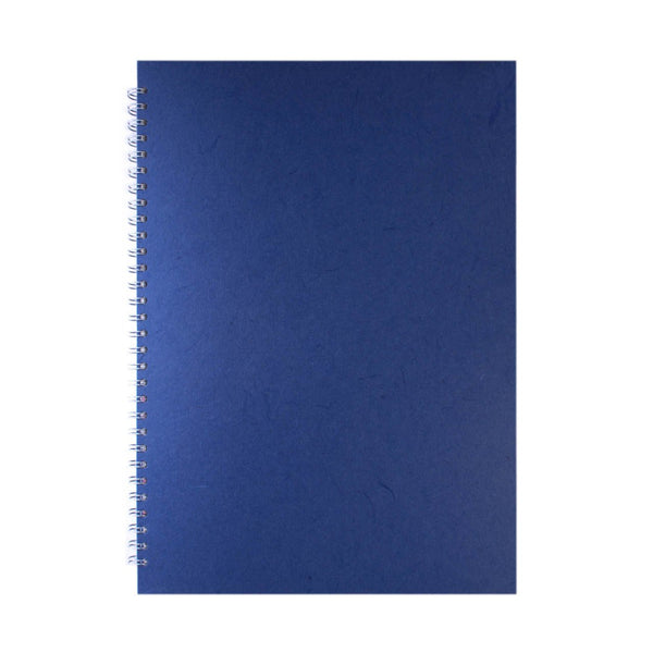 A3 Portrait, Mid Blue Display Book by Pink Pig International