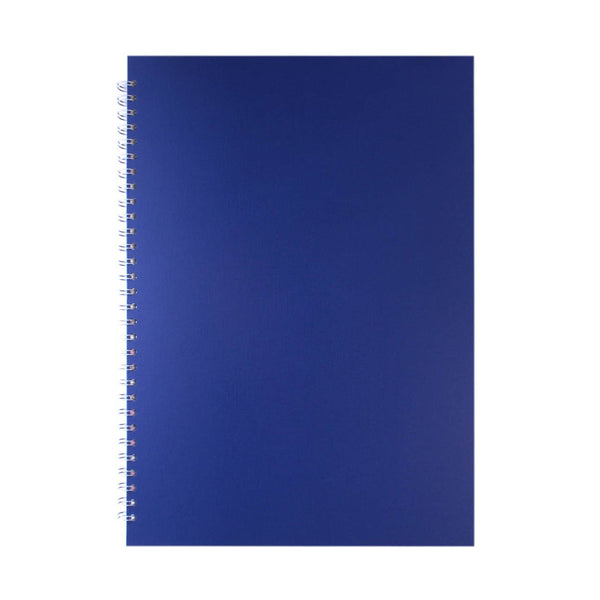 A3 Portrait, Eco Blue Sketchbook by Pink Pig International