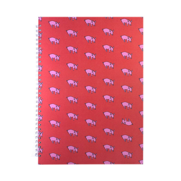 A3 Portrait, Rooster Red Display Book by Pink Pig International