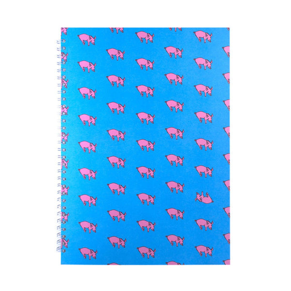 A3 Portrait, Duck Blue Display Book by Pink Pig International