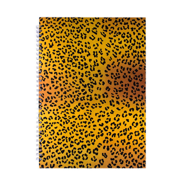 A3 Portrait, Leopard Sketchbook by Pink Pig International