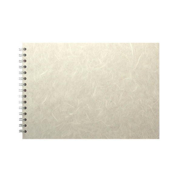 A4 Landscape, Ivory Sketchbook by Pink Pig International