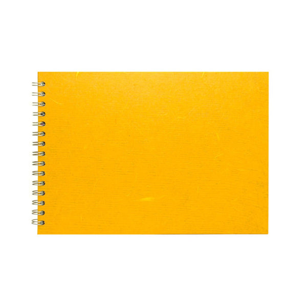 A4 Landscape, Mustard Sketchbook by Pink Pig International