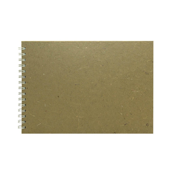 A4 Landscape, Burlap Display Book by Pink Pig International