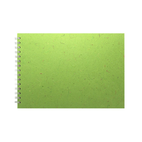 A4 Landscape, Emerald Sketchbook by Pink Pig International