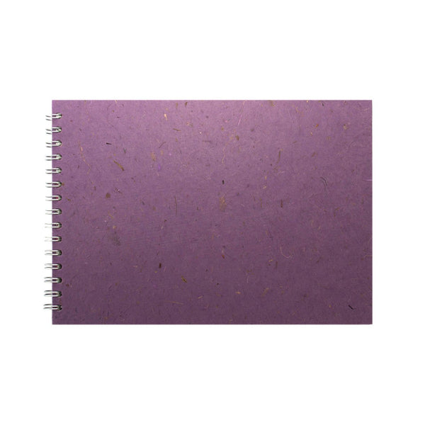 A4 Landscape, Amethyst Sketchbook by Pink Pig International