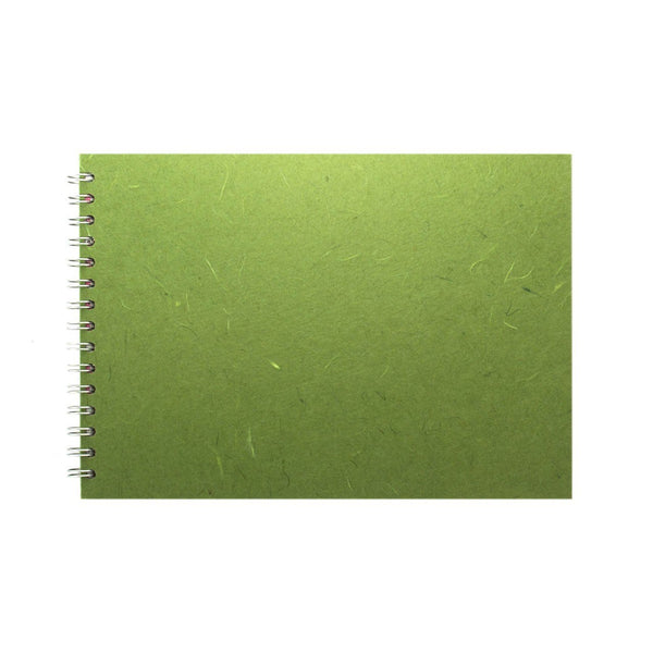A4 Landscape, Moss Sketchbook by Pink Pig International