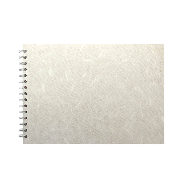A4 Landscape, White Sketchbook by Pink Pig International