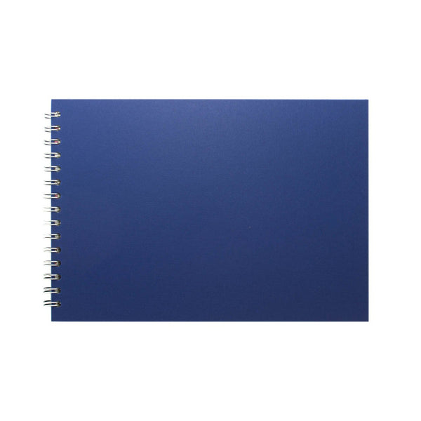A4 Landscape, Eco Blue Sketchbook by Pink Pig International