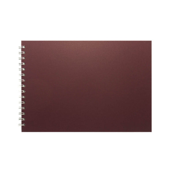A4 Landscape, Eco Aubergine Display Book by Pink Pig International